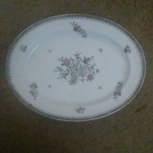 COPELAND SPODE FLORAL PLATTER 13 BY 15 INCHES